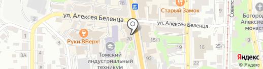 HALL на карте Томска