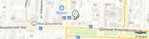 Александра на карте Томска