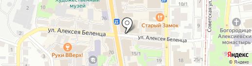 СпортБет на карте Томска