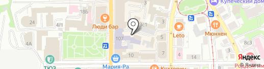 Соббит на карте Томска