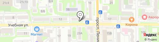 Апартаменты ВипХоум на карте Томска