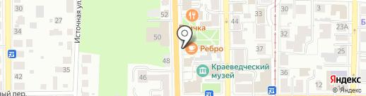 ФАБРИКА на карте Томска
