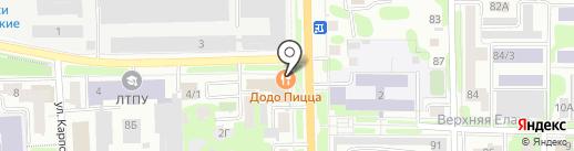 Владыка Кедр на карте Томска