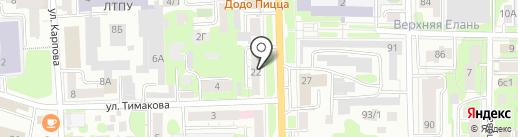 LUX CONFORT на карте Томска