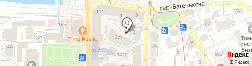 Управление Федеральной службы по надзору в сфере защиты прав потребителей и благополучия человека по Томской области на карте Томска