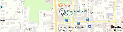 Павлин на карте Томска