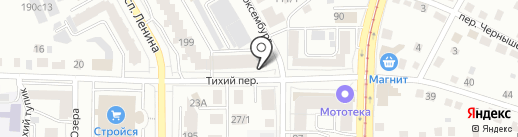 Магазин товаров для защиты древесины на карте Томска