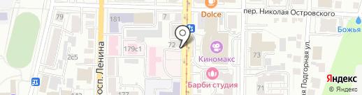 5 Звезд на карте Томска