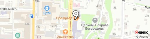 ПроКрафт на карте Томска