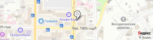 Гео Контур на карте Томска