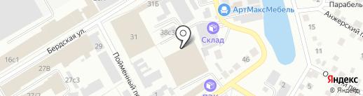 Инженерно-Технический центр на карте Томска