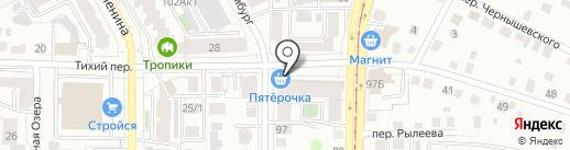 Ломбард Галактика на карте Томска