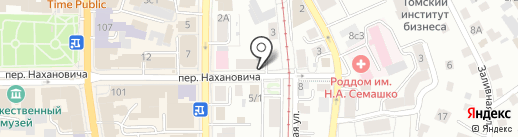 Restyle на карте Томска