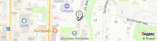 Narcotics anonymous на карте Томска