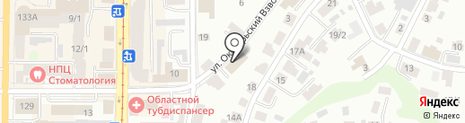 Аккаунт на карте Томска