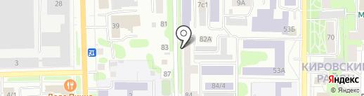 Власта на карте Томска