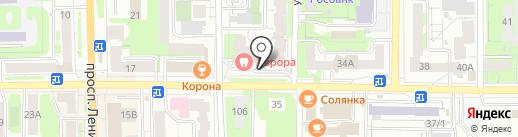 АНТАРЕС на карте Томска