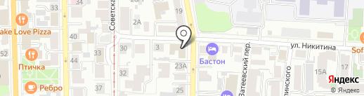 ТЕПЛО на карте Томска