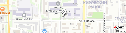 Daily detailing на карте Томска