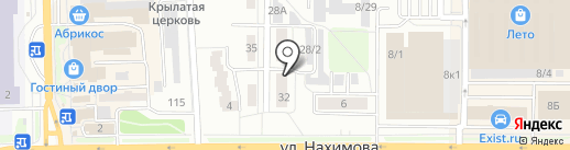 ПРОФИ на карте Томска