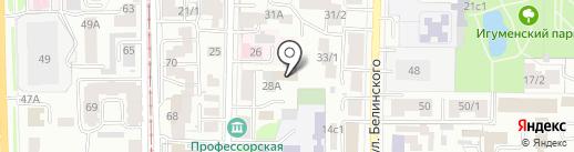 Томский фтизиопульмонологический медицинский центр на карте Томска
