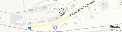 Психо на карте Томска