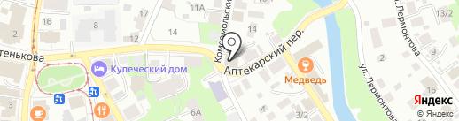 Ингосстрах, СПАО на карте Томска