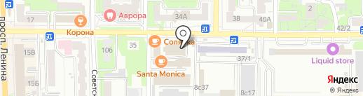 Айфоня на карте Томска