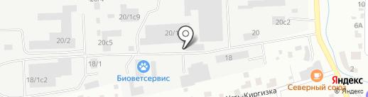 АвтоГрузовой центр на Энергетической на карте Томска