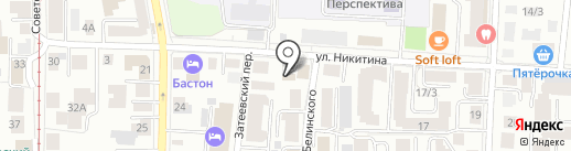 Счастливый на карте Томска
