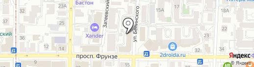 Торговый дом Весна на карте Томска