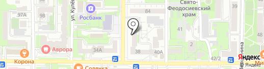 МУЗА на карте Томска
