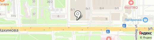 SUN на карте Томска