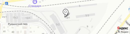 АвтоСтройМатериал на карте Томска