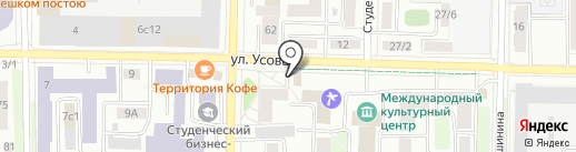 Yes bar на карте Томска
