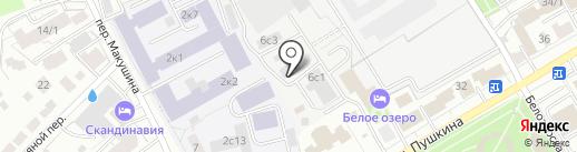 Северная Рыба на карте Томска