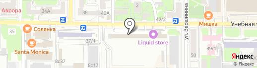 Сибгеотерм на карте Томска