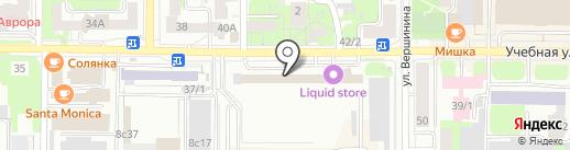 Теплоэксперт-67 на карте Томска