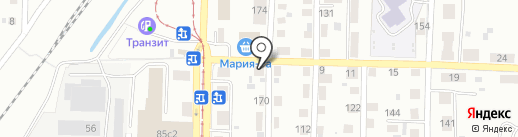 АкваБур-Т на карте Томска