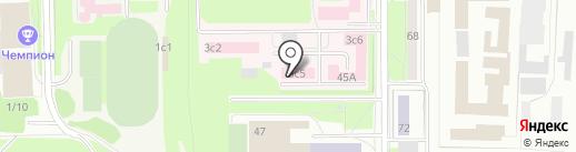 Патологоанатомическое бюро на карте Томска