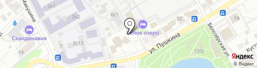СПЕЦТОМСК на карте Томска
