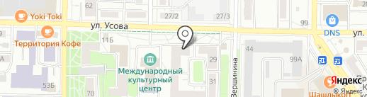 Технодом на карте Томска