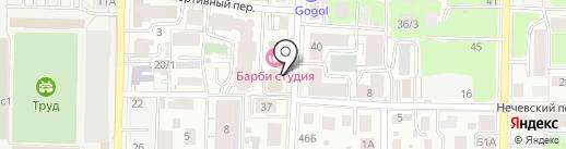 Максимум на карте Томска