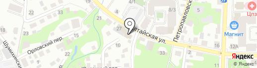 Лабораториус на карте Томска