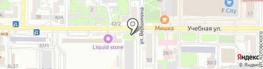 MaxGrill на карте Томска
