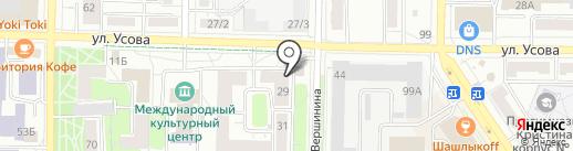 1001 ночь на карте Томска