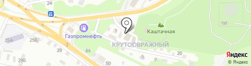 Монтана на карте Томска