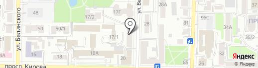 Чайная обитель на карте Томска