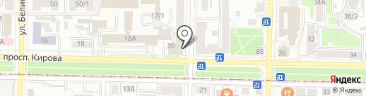Светелка на карте Томска
