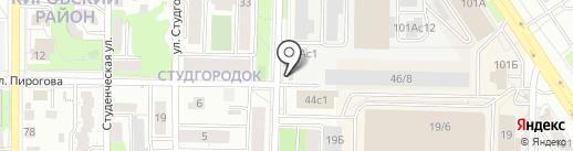 Мажор на карте Томска